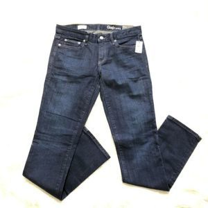 Gap Real Straight Sz 28 L Blue Jeans EP3-863